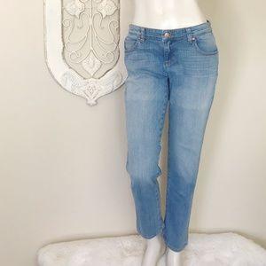 Eileen Fisher   High Rise Straight Leg Jean 4